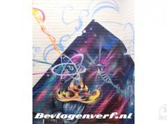 Veluws college muurschildering